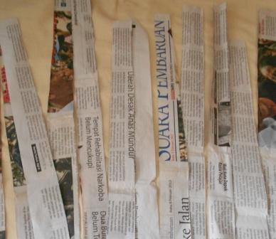 cara membuat kerajinan tangan dari kertas
