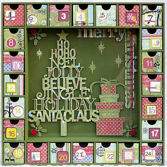 Thrifty living thrifty living 39 s advent calendar for Diy christmas advent calendar ideas