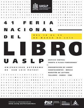 UASLP: 41 FERIA NACIONAL DEL LIBRO