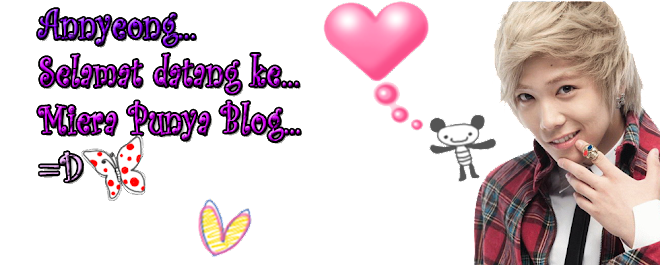 Miera Punya Blog