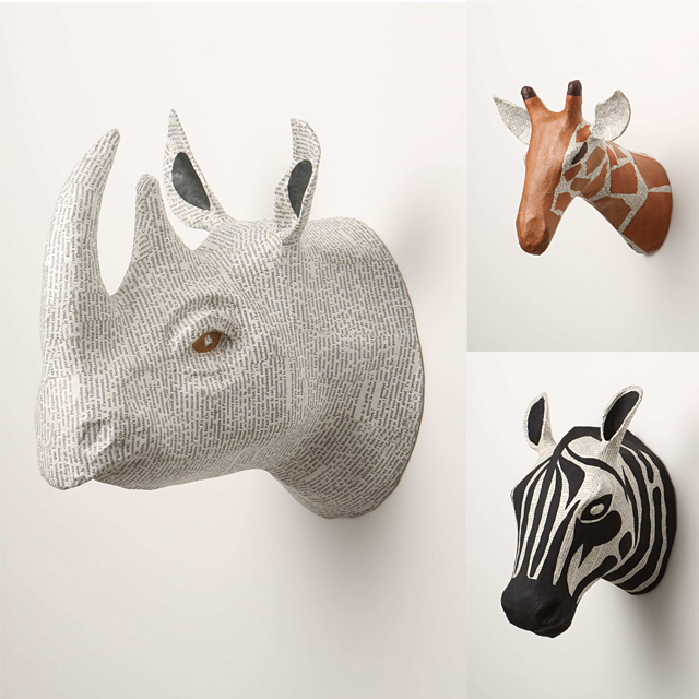 Pin by dusan stupar on kk paper art ideas pinterest for Making paper mache animals