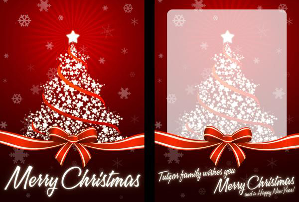 personalized christmas cards for business