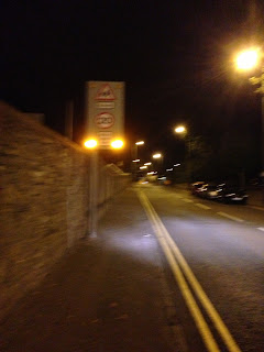 20 mph Flashing warning lights close to Eastern Primary School and Grove Academy