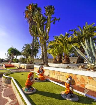 Tennis en Minigolf aan de Costa Blanca in Moraira