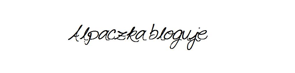 Alpaczka bloguje