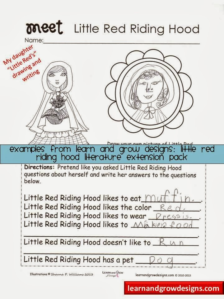 Download image Little Red Riding Hood Activities PC, Android, iPhone ...