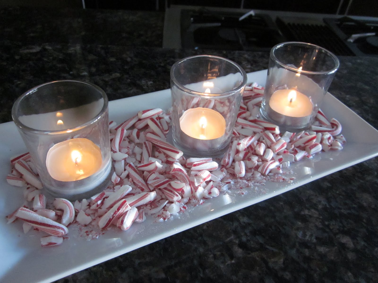 Candy and candles