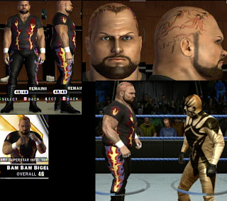 WWE Superstars Tattoo Design - Bam Bam Bigelow Tattoos