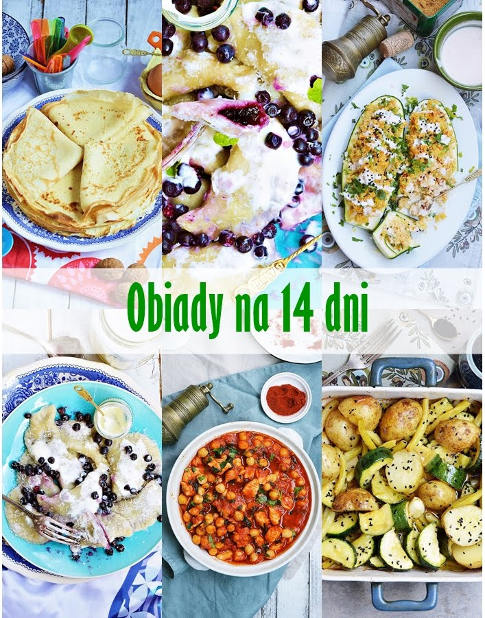 Obiady na 14 dni
