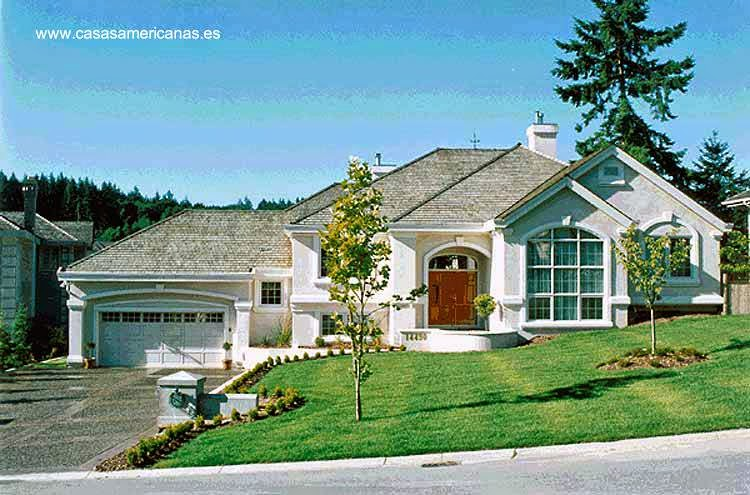 Arquitectura de casas las casas americanas modernas for Arquitectura de casas modernas de una planta