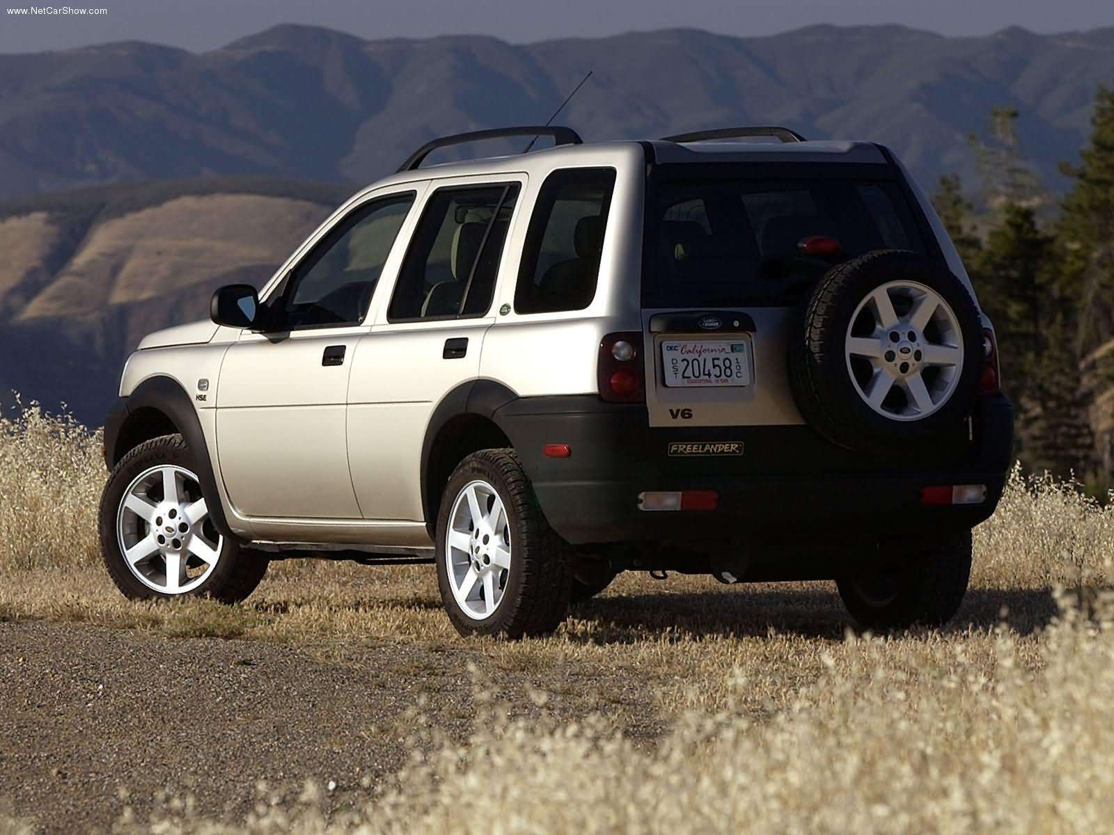 Hình ảnh xe ô tô Land Rover Freelander 2003 & nội ngoại thất