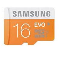 Buy Online Samsung EVO MB-MP16DA/IN microSDHC 16GB Memory Card at Rs. 255