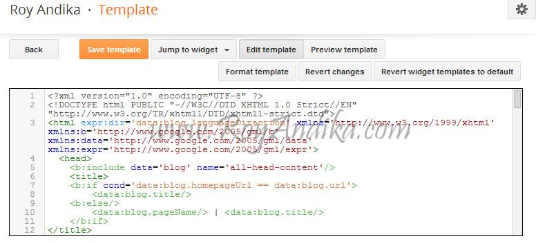 Cara Menampilkan Baris Kode HTML, CSS Dan JavaScript Pada Postingan Blogspot