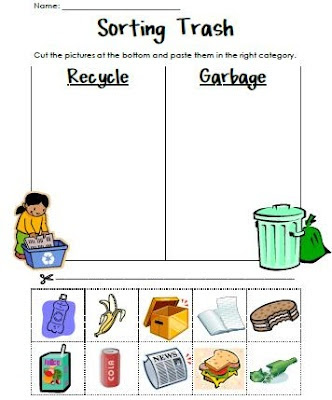 Reduce Reuse Recycle Worksheets - Saferbrowser Yahoo Image Search ...