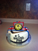 Bosten hockey Cake