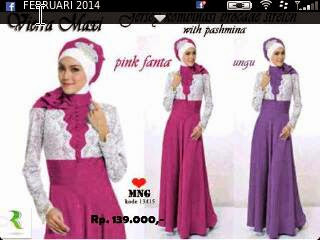 Dress panjang vierra maxi