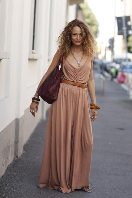 cor de caramelo vestido