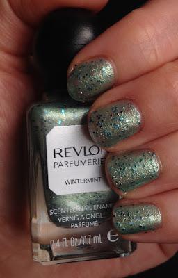 Revlon, Revlon Parfumerie Scented Nail Enamel Wintermint, nail polish, nail lacquer, nail varnish, nails, manicure, mani monday, #manimonday