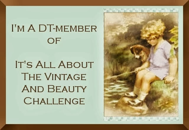 Proud to design for It's All About The Vintage & Beauty Challenge
