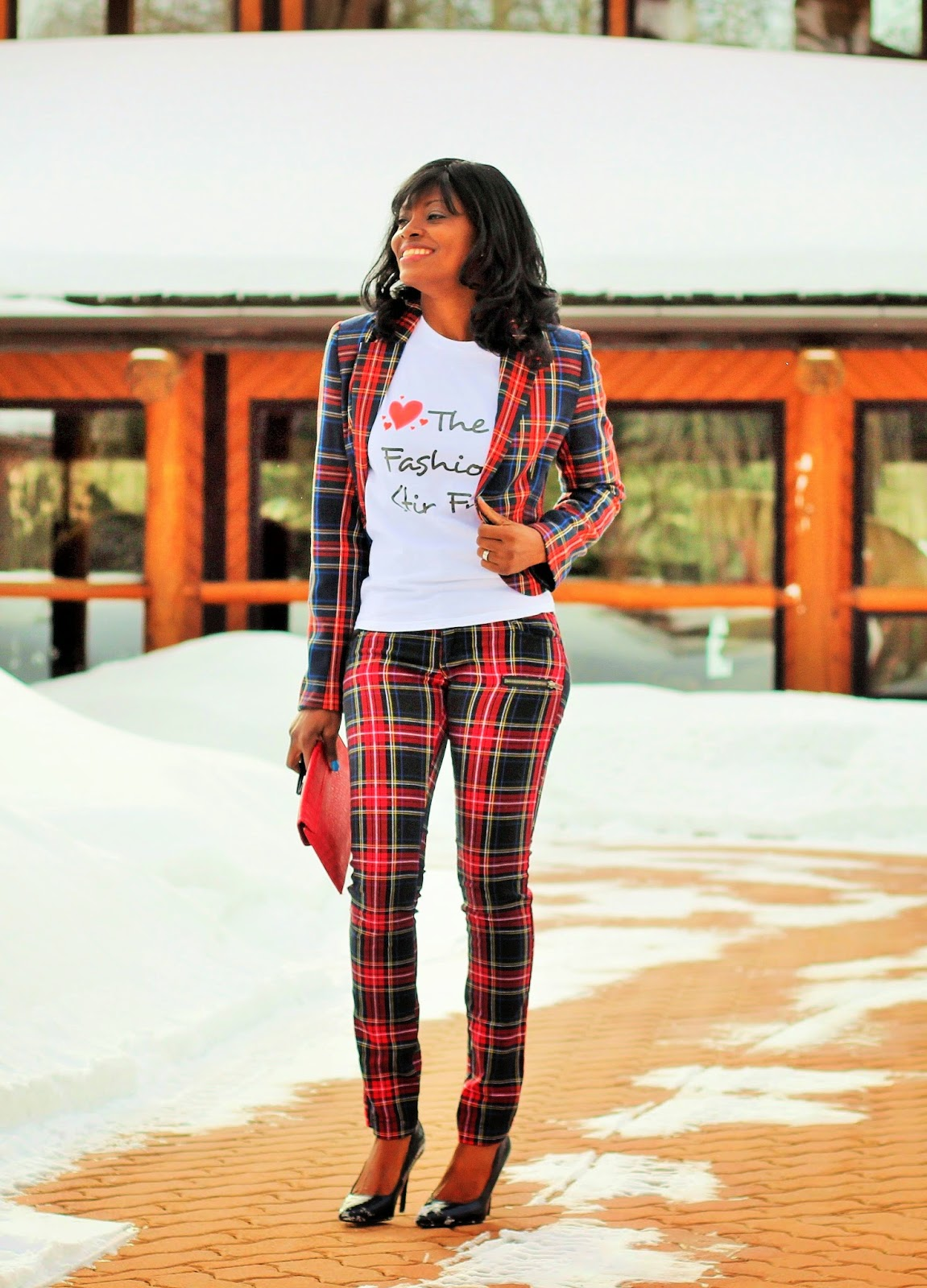 Perfect plaid outfit