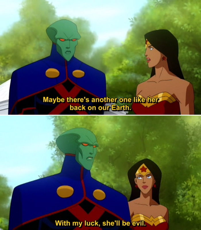 Justice League Crisis on Two Earths Quote-4