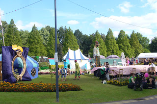 kids' area at Summer Sundae festival
