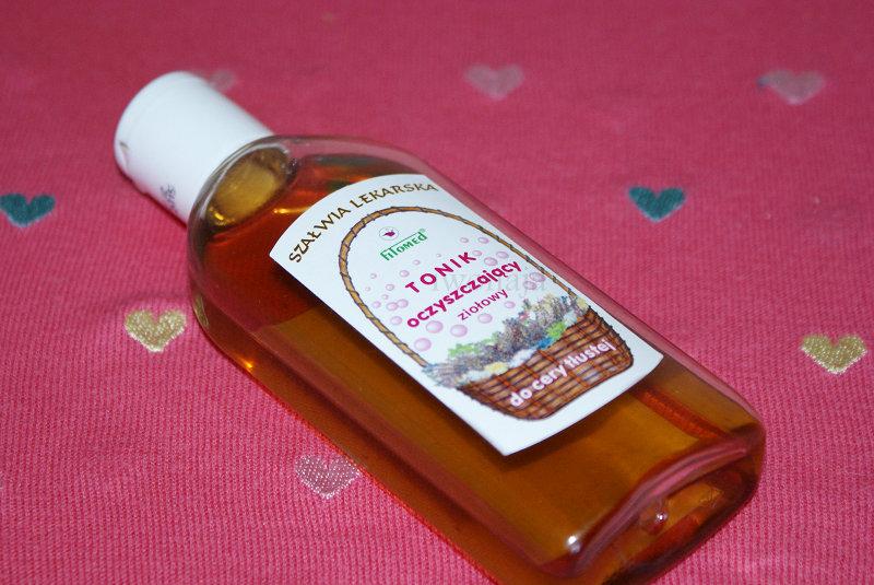 Tonik ziołowy dla cery tłustej i trądzikowej. Fitomed.