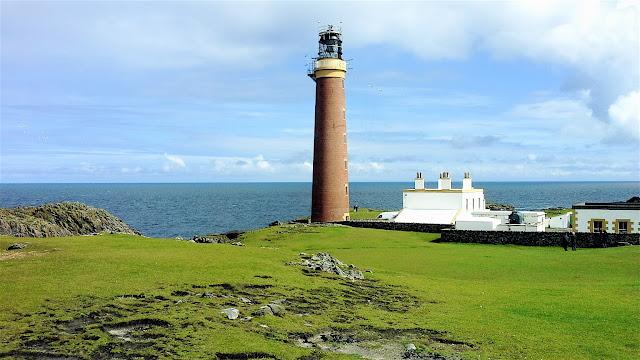 Il Faro di Butt of Lewis Isole Ebridi