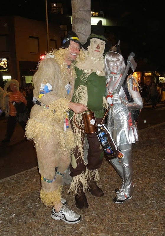 West Hollywood Halloween Wizard of Oz costumes 2012