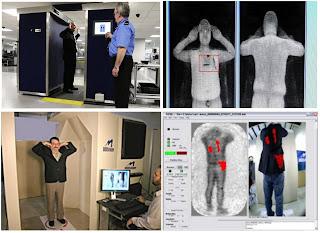 Privacidad en los escáneres corporales de los aeropuertos