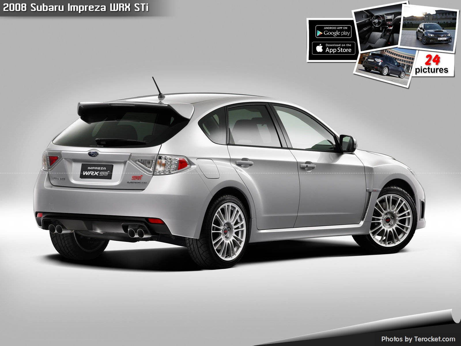 Hình ảnh xe ô tô Subaru Impreza WRX STi 2008 & nội ngoại thất