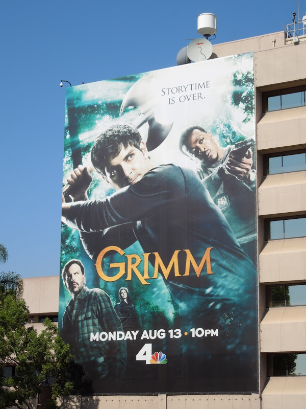Giant Grimm season 2 billboard