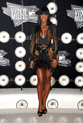 10 Best Fashion at MTV VMA 2011: Keely Rowland