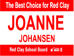 Joanne Johansen for Red Clay School Board
