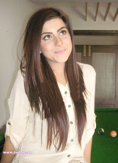 Gorgeus Sohai Ali Abro At Home in Snooker Room Pictures 2013