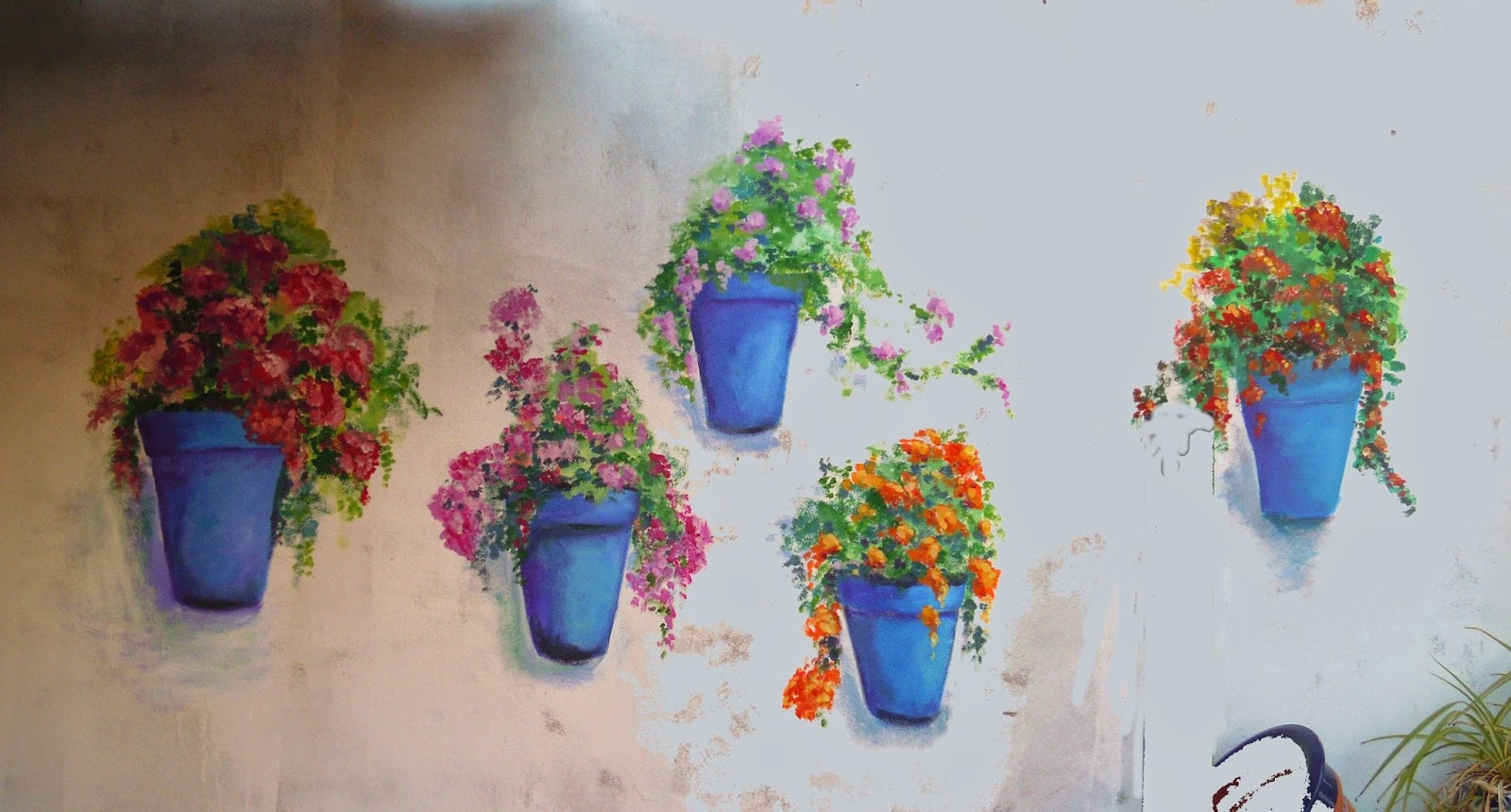 Pinturas de sousa macetas en la pared - Macetas en la pared ...