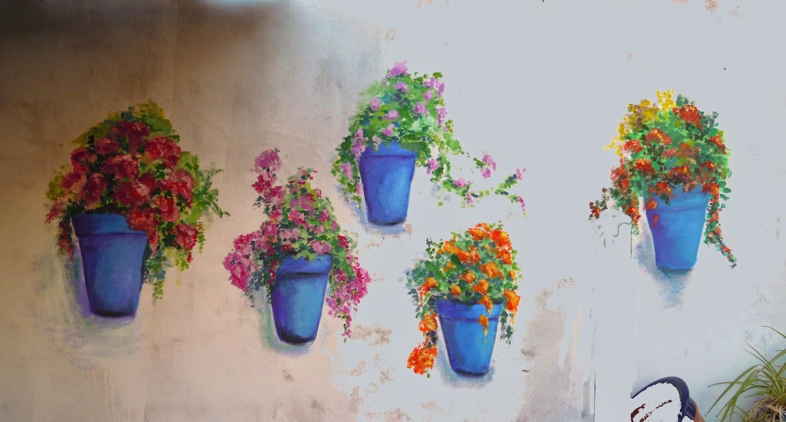 Pinturas de sousa macetas en la pared - Macetas para pared ...
