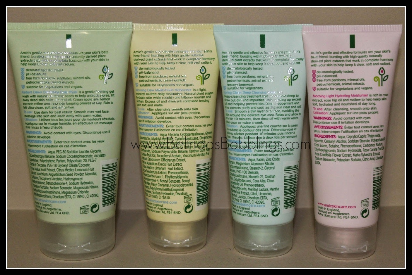 Diary of a Trendaholic : Amie Skincare Review: Cleansing ...