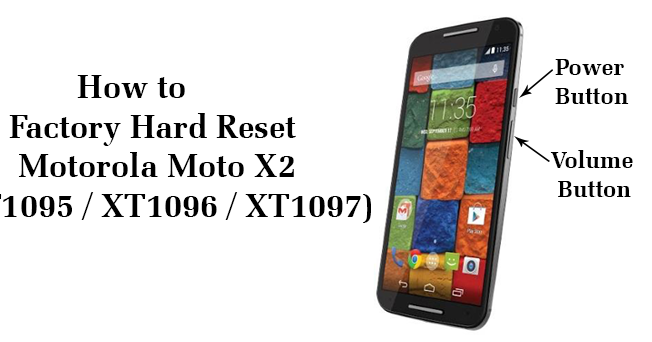 former cast how to factory reset a motorola phone has