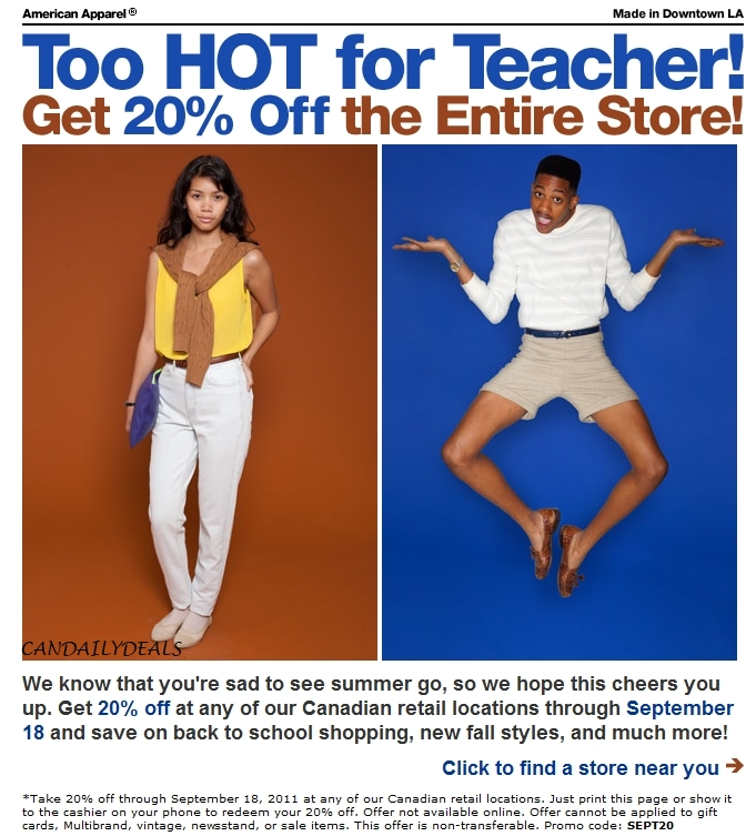 Save up to 30% Off with these current american apparel uk coupon code, free mcaccounts.ml promo code and other discount voucher. There are 10 mcaccounts.ml coupons available in November