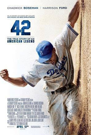 resensi film, film review, 42, 2013, jack roosevelt robinson, branch rickey, brooklyn dodgers, baseball, pic