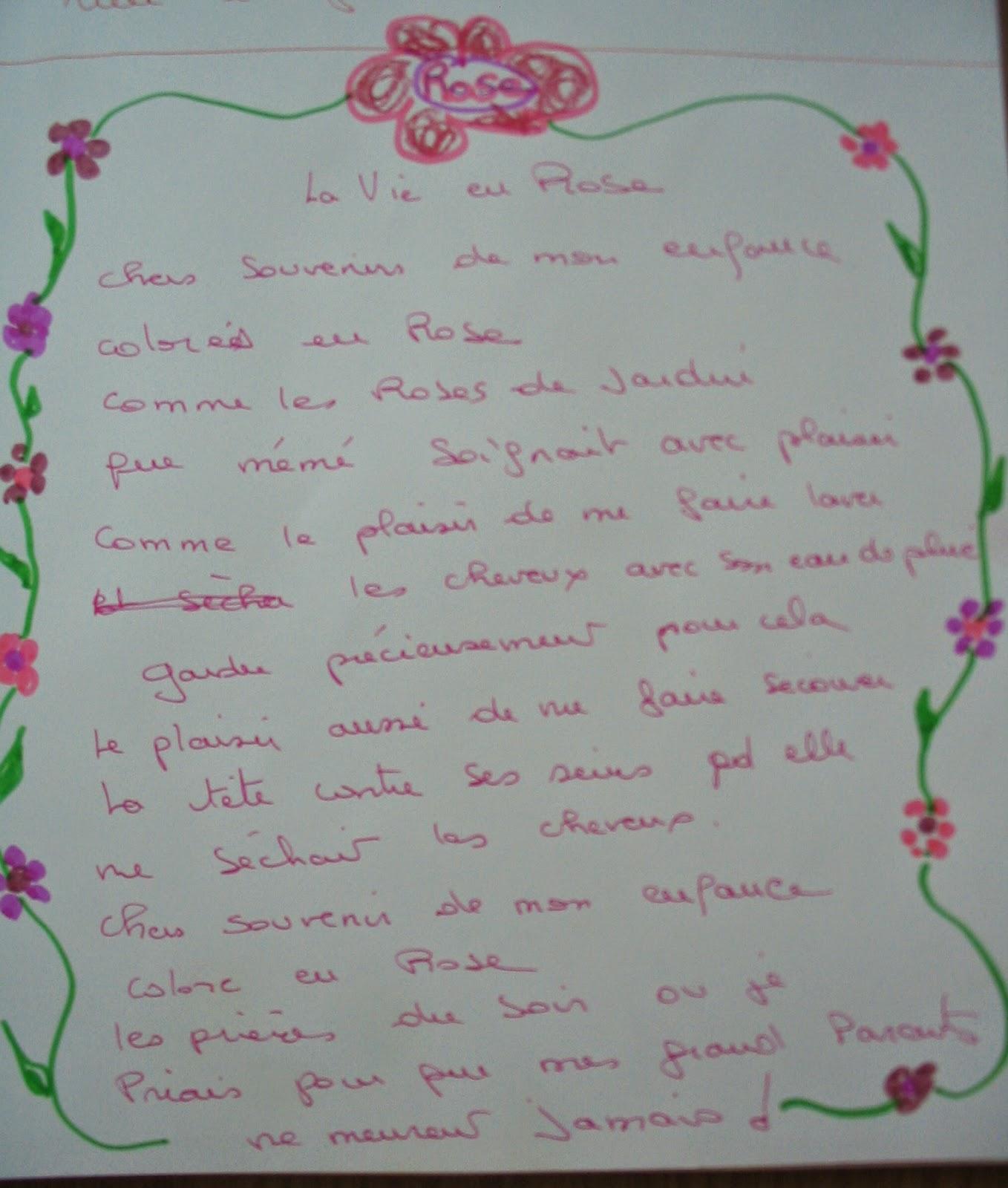 exercices d'écriture créative