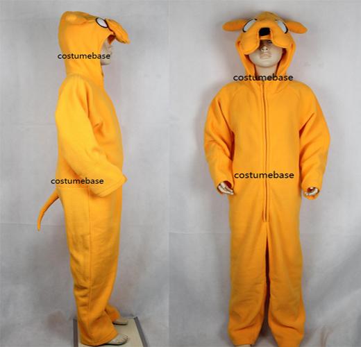 Jake Kids Costume Finn Children Adventure Time Cosplay Halloween Fleece