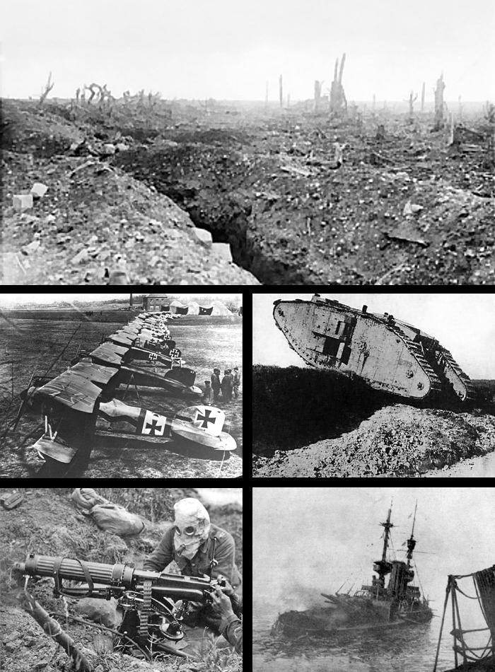 italia en la primer guerra mundial: