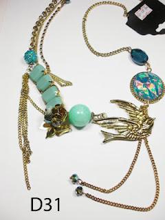 kalung aksesoris wanita d31