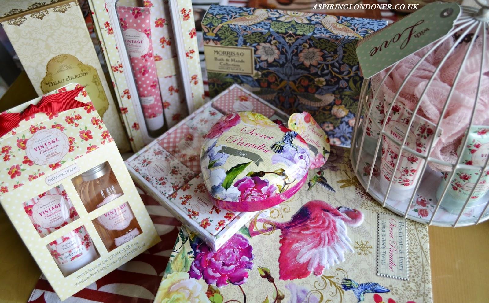 Heathcote & Ivory Gift Sets - Aspiring Londoner