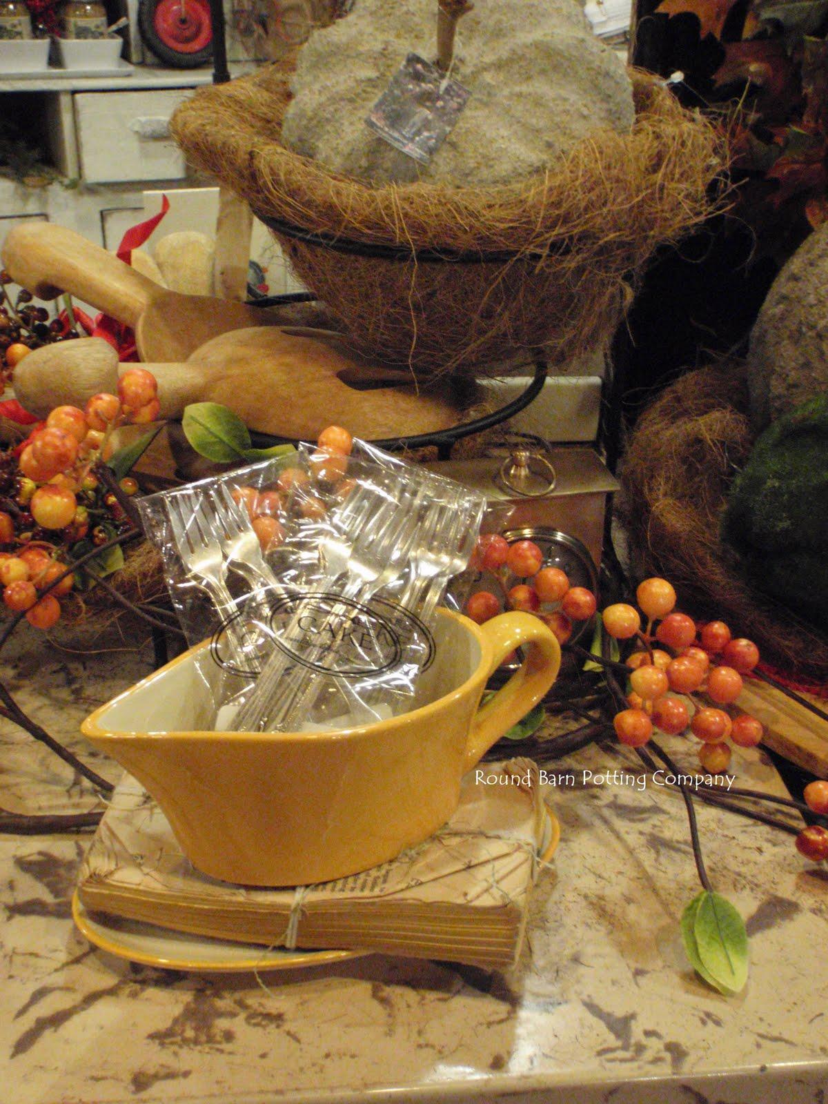 Lori Miller S Round Barn Potting Company Cement Pumpkins