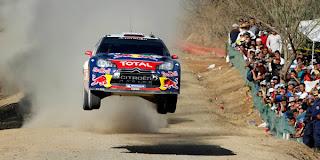 RALLY WRC-Loeb ganó por quinta vez consecutiva en México