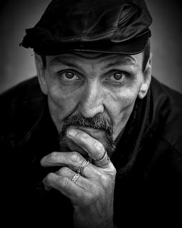 Homeless individual.