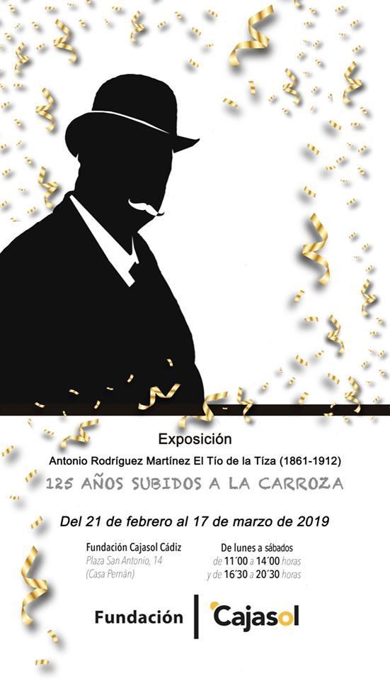 Exposición `Tío de la Tiza, 125 años subidos a la carroza´